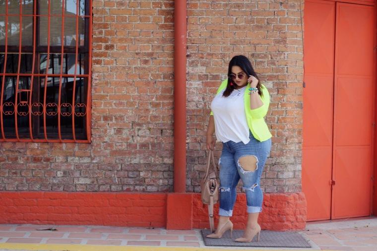 latin plus size blogger