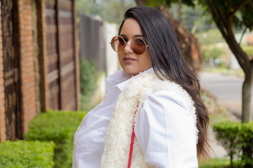 MBFWSJ: How To Style An Oversized WhiteShirt