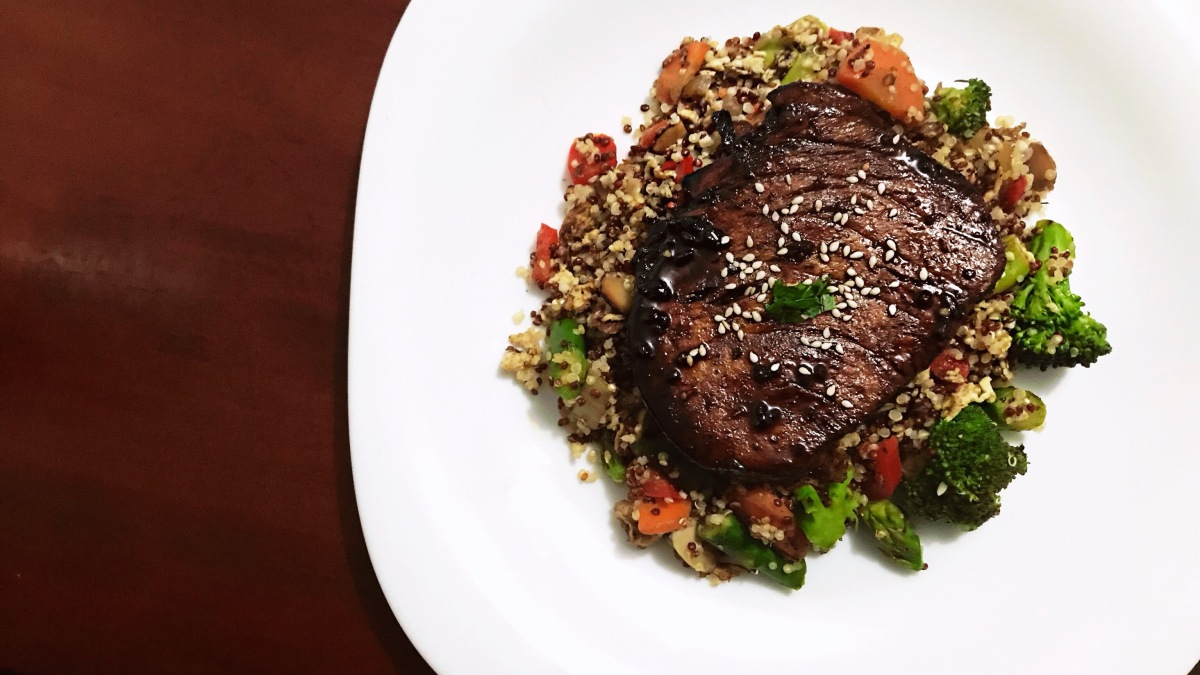 Receta: Filete de Atún, Quinoa & Vegetales